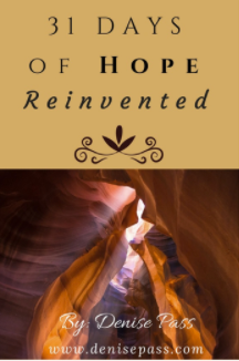 Hope Reinvented 31-Day Devotional Cover