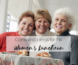 Denise Pass will be the speaker at the Women's Luncheon