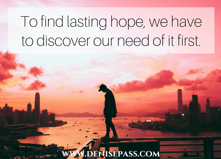Finding Hope When Our Spirit is Crushed