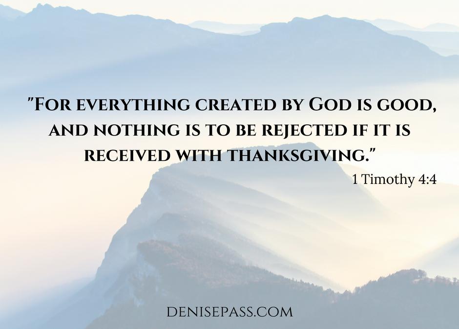 Making Room for Gratitude: Day 18
