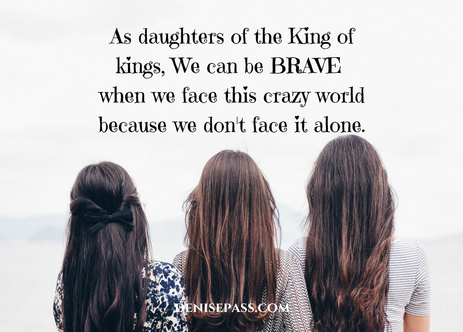 Thankful No Longer Shameful Day 30: Finding Our Bravery in Christ