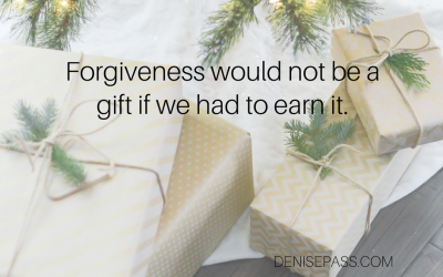 What Does Christmas Mean to You ~ A Gift of Forgiveness