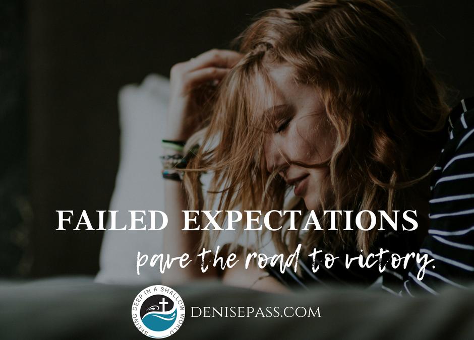 Shame Off Failed Expectations