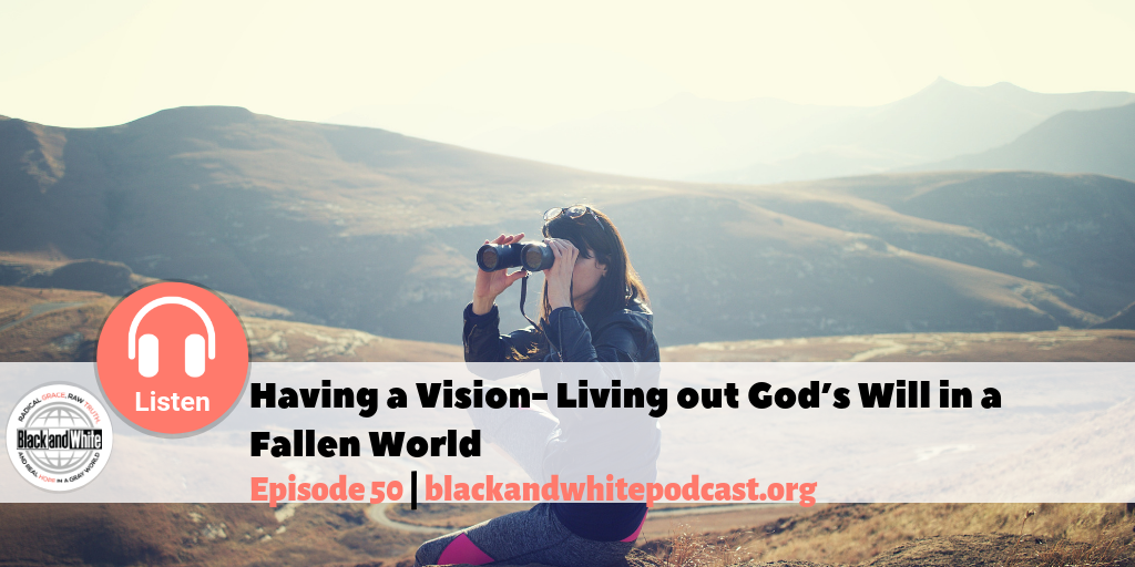 BW#50 Having a Vision- Living out God's Will in a Fallen World