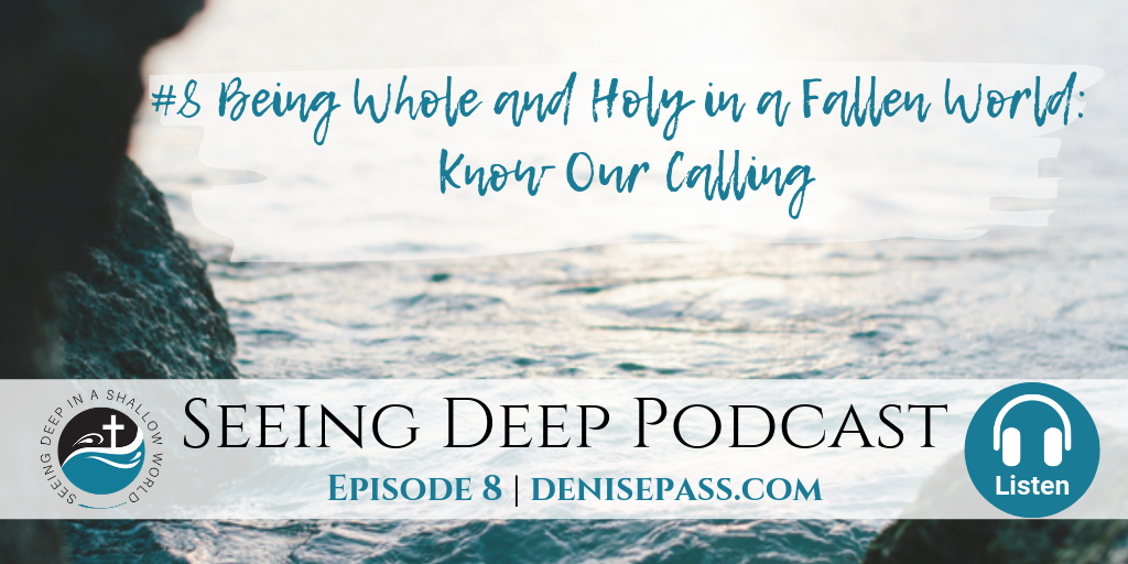 SD#8 Being Whole and Holy in a Fallen World: Know Our Calling