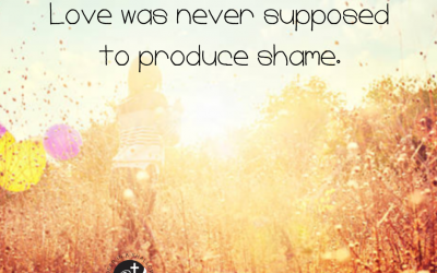 Love was never supposed to produce shame