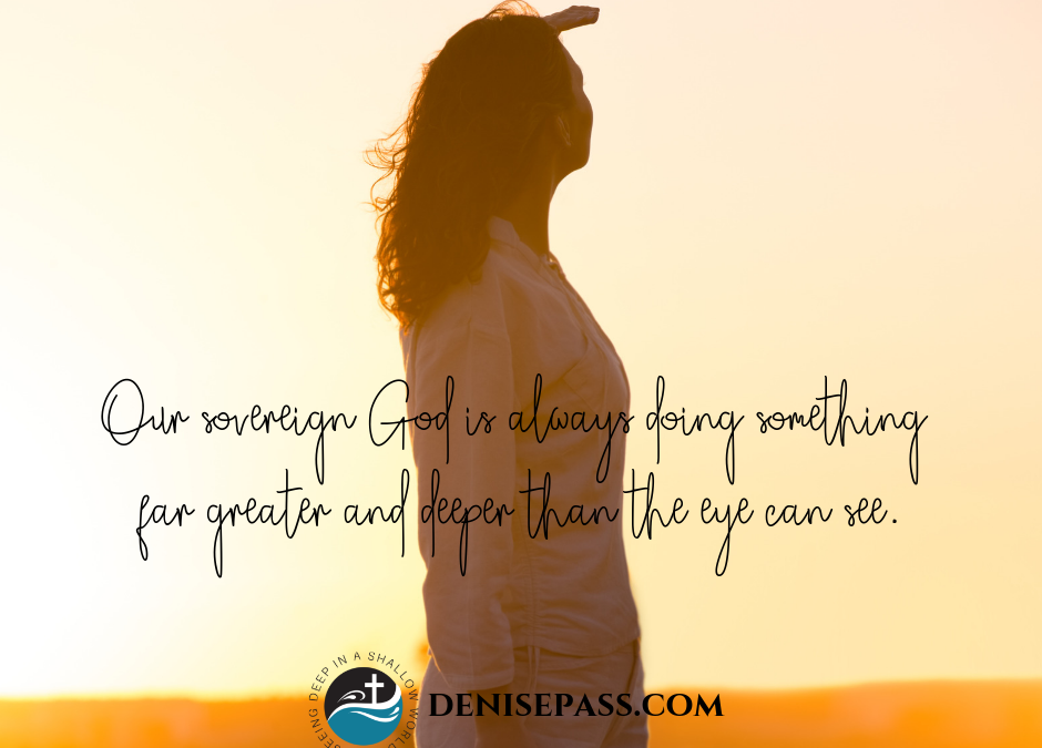 How the Sovereignty of God Helps Us to Trust God's Purposes