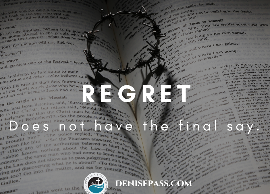 Regret Does Not Have the Final Say
