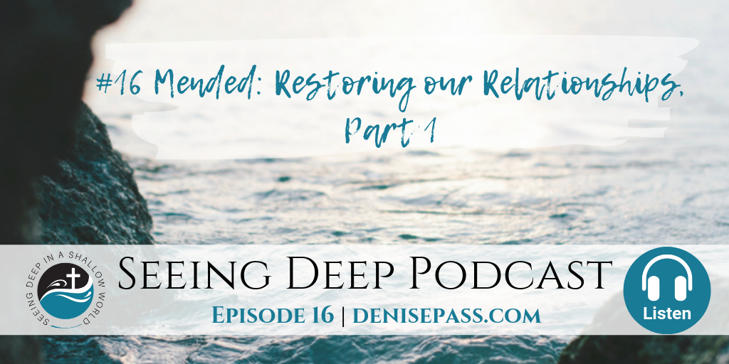SD#16 Mended: Restoring our Relationships, Part 1