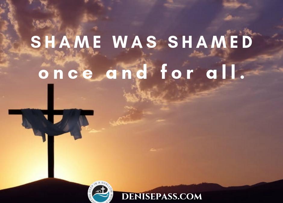 When Shame Was Shamed