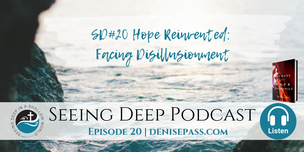 SD#20 Hope Reinvented: Facing Disillusionment