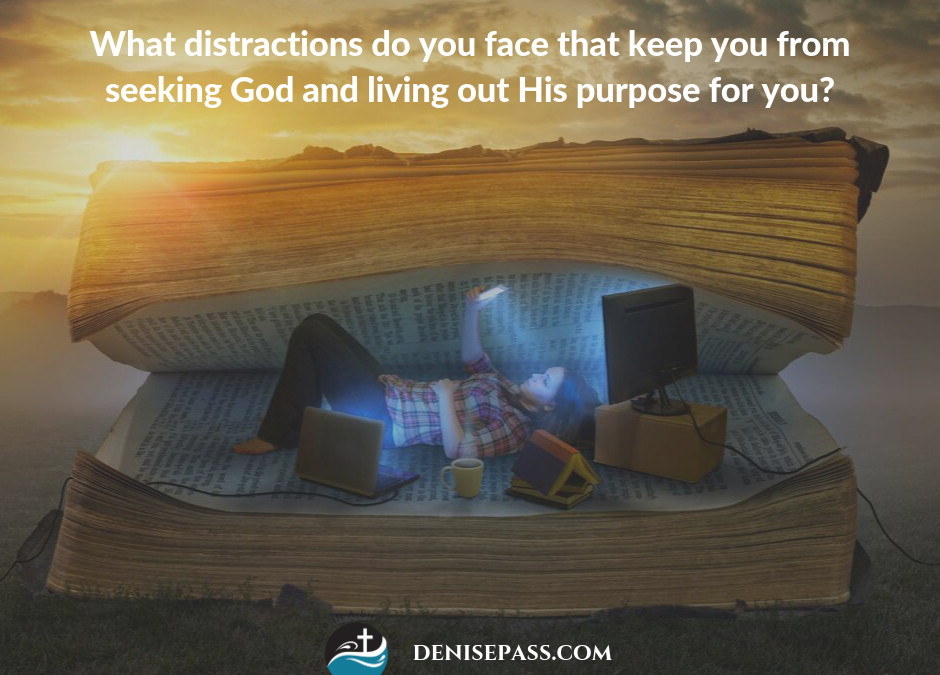 Facing and Rising Above Distractions