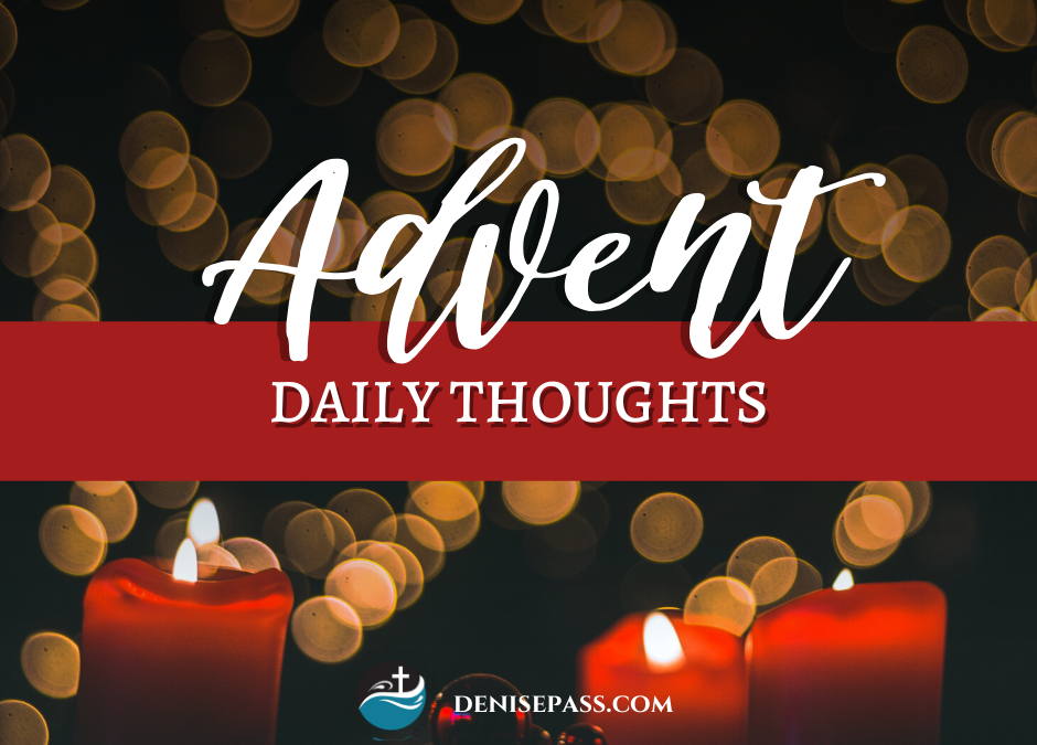 Advent Daily Thoughts