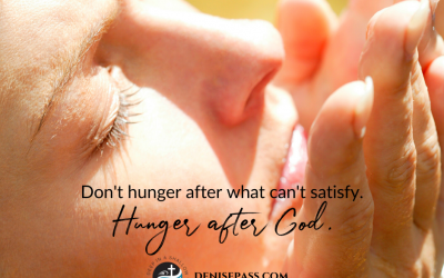 Finding Satisfaction and Filling Our True Hunger