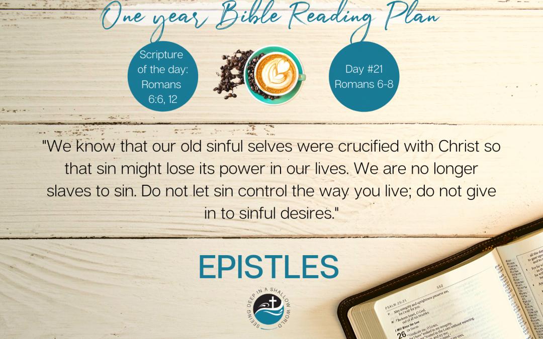 January 21 Bible Reading Plan