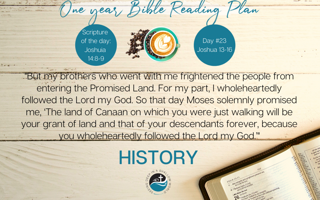 January 23 Bible Reading Plan