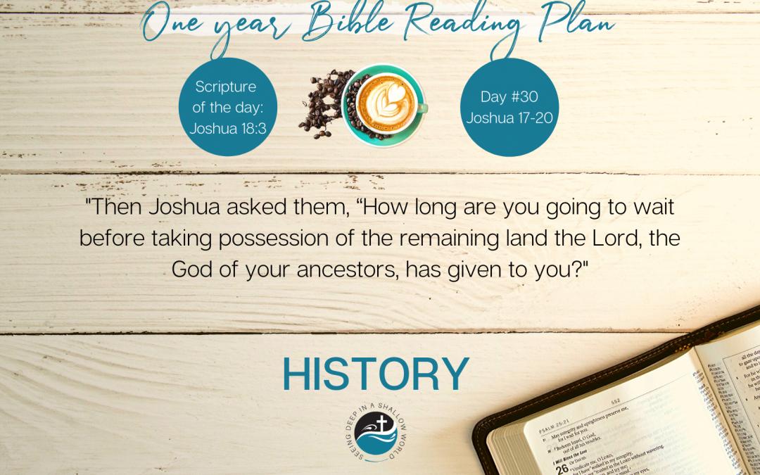 January 30 Bible Reading Plan
