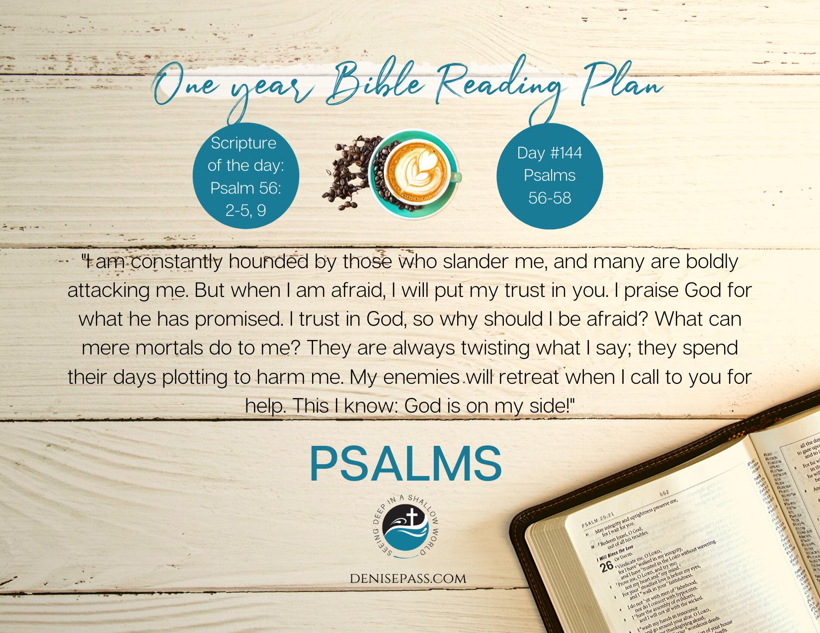 Psalms 56-58