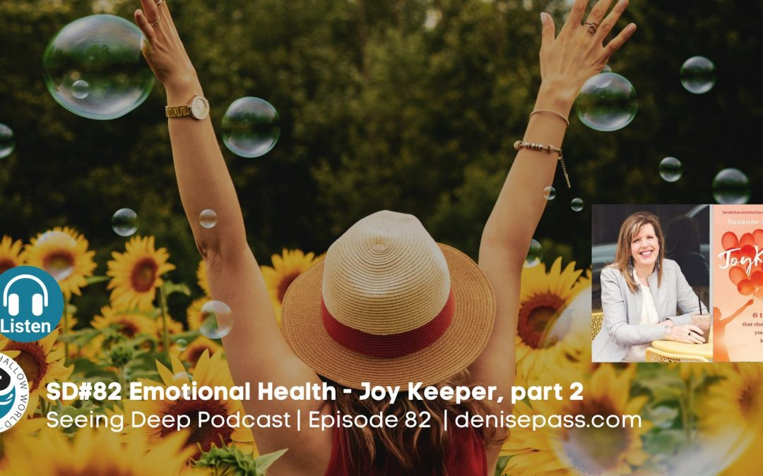 SD#82 The Key to Emotional Health with Suzie Eller, part 2