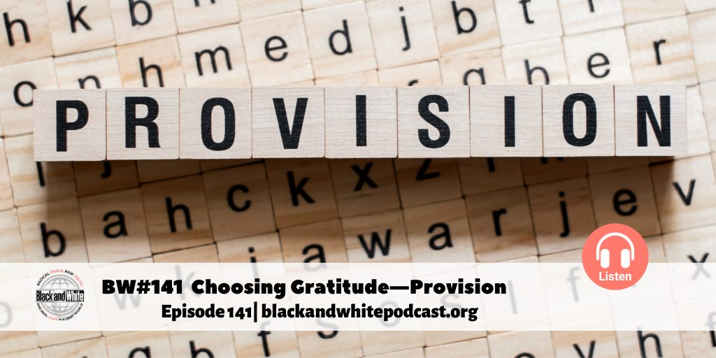 Choosing Gratitude—Provision