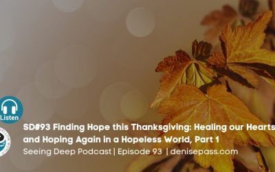 SD#93 Finding Hope this Thanksgiving: Healing our Hearts and Hoping Again in a Hopeless World, Part 1