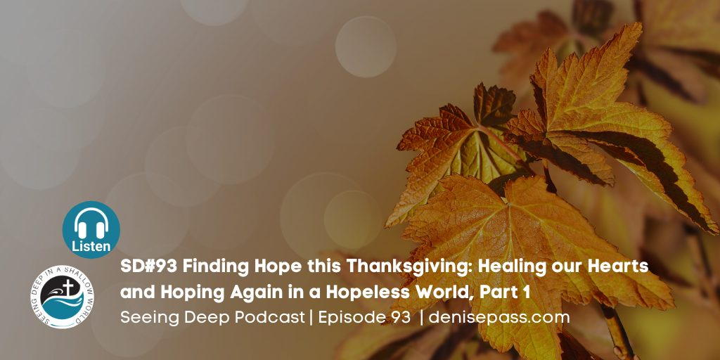 Finding Hope this Thanksgiving