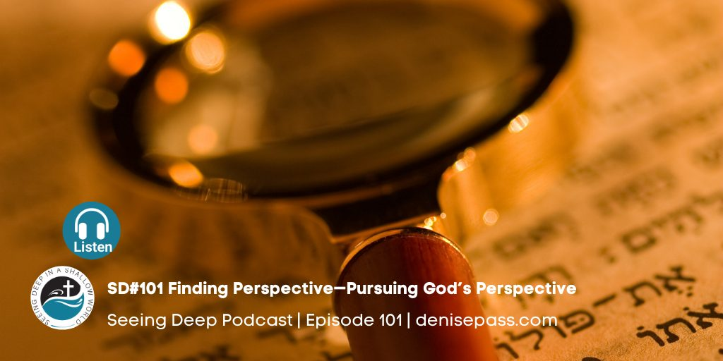 SD#101 Finding Perspective—Pursuing God's Perspective