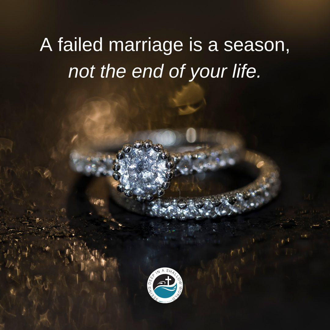 Removing Shame from a Failed Marriage