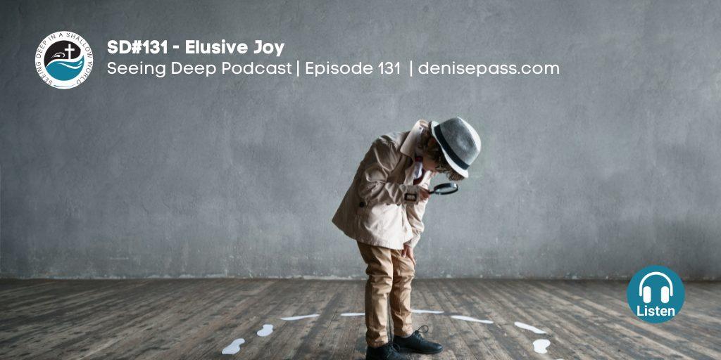 SD#131 Elusive Joy